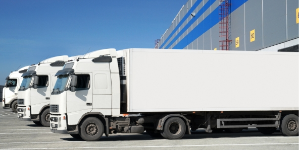 Combination trucks with  tarpaulin, side-curtain, refrigerator, or mega trailers